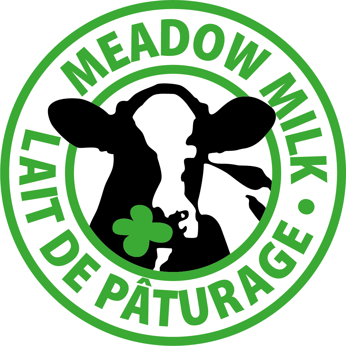 EN FR Meadow Milk Lait de Paturage